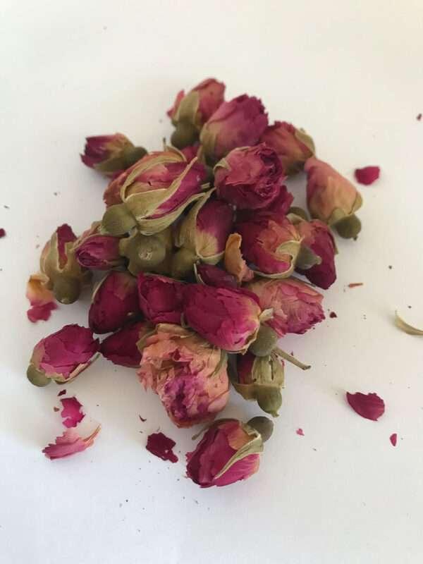 Boccioli rosa