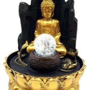 FONTANA DEL BUDDHA dorato